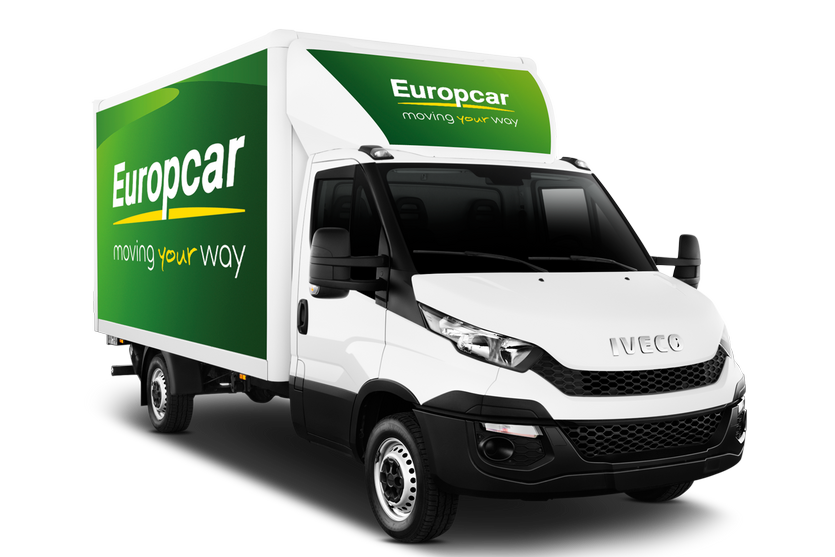 Location utilitaire Europcar Tavers 20m3 IVECO DAILY 20M3