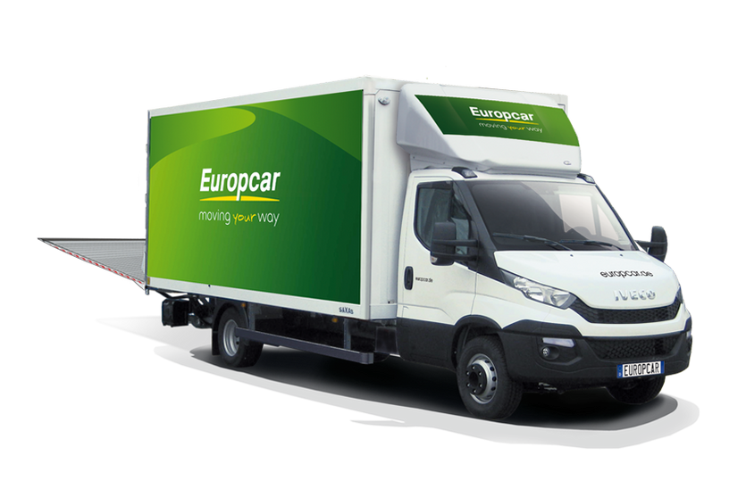 Location utilitaire Europcar ROANNE 20m3 20M3 HAYON IVECO DAILY